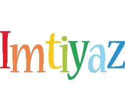 Imtiyaz birthday logo