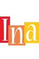 Ina colors logo