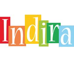 Indira colors logo