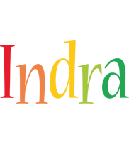 Indra birthday logo