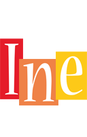 Ine colors logo