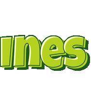 Ines summer logo