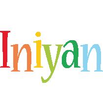 Iniyan birthday logo