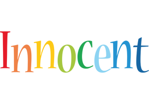 Innocent birthday logo