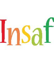 Insaf birthday logo