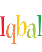 Iqbal birthday logo
