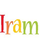Iram birthday logo