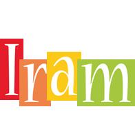 Iram colors logo