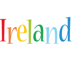 Ireland birthday logo