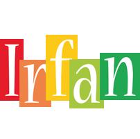 Irfan colors logo
