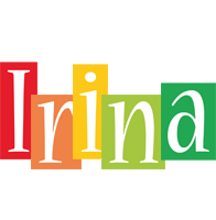 Irina colors logo