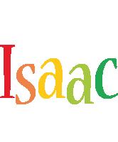 Isaac birthday logo