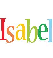 Isabel birthday logo