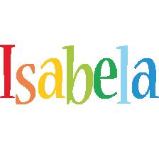 Isabela birthday logo