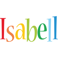 Isabell birthday logo