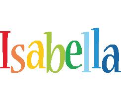 Isabella birthday logo