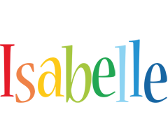 Isabelle birthday logo