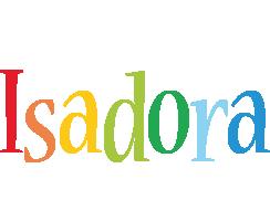 Isadora birthday logo