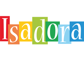 Isadora colors logo