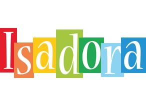 Isadora colors logo