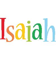 Isaiah birthday logo