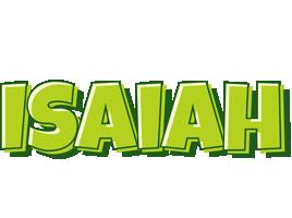 Isaiah summer logo