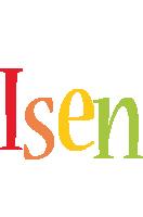 Isen birthday logo