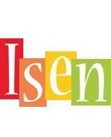 Isen colors logo