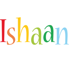 Ishaan birthday logo