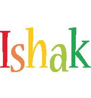 Ishak birthday logo