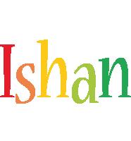 Ishan birthday logo