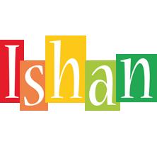 Ishan colors logo
