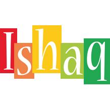 Ishaq colors logo