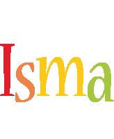 Isma birthday logo