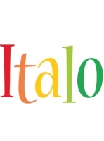 Italo birthday logo