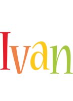 Ivan birthday logo