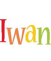 Iwan birthday logo