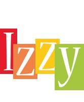 Izzy colors logo