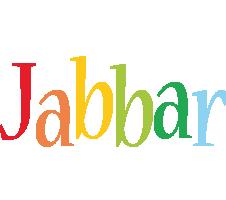 Jabbar birthday logo