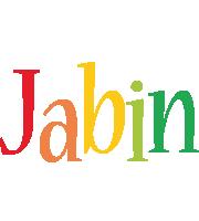 Jabin birthday logo