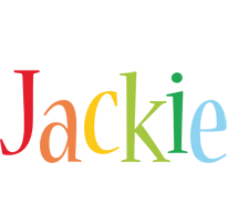 Jackie birthday logo