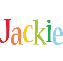 Jackie birthday logo