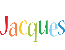 Jacques birthday logo