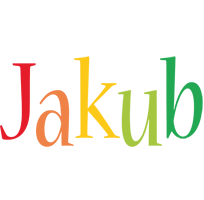Jakub birthday logo