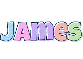 James Logo   Name Logo Generator - Candy, Pastel, Lager ...