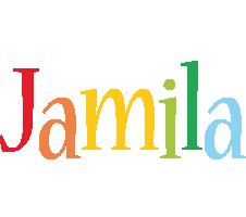 Jamila birthday logo