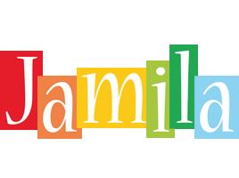 Jamila colors logo