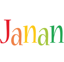 Janan birthday logo