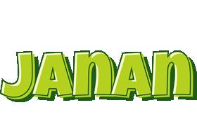 Janan summer logo