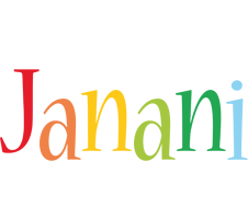 Janani birthday logo